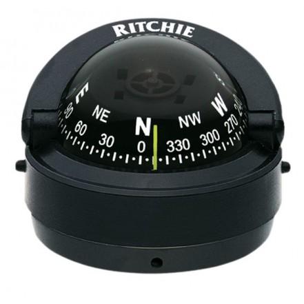 Ritchie Compass S53 Explorer Black Surface Mount