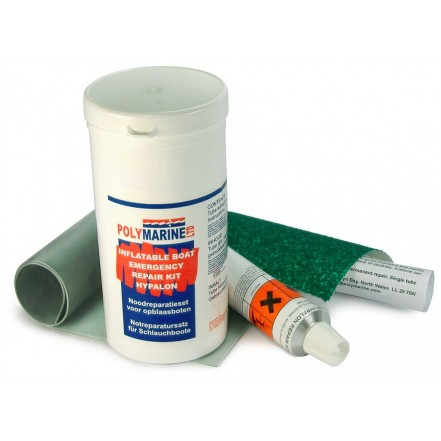 Polymarine Hypalon Repair Kit Grey