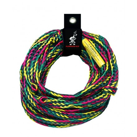 Airhead Deluxe 4 Rider Tube Tow Rope 60ft