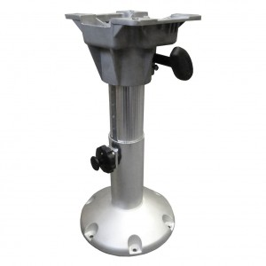 "Waveline Aluminium Adjustable Boat Seat Pedestal 13""-17"""