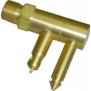 "Waveline Merc/Mariner Brass Male Quick Connect 1/4"" NPT"