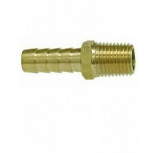 Waveline Tank Connector 5/16-3/8 Barb And 1/4 NPT