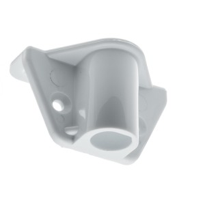 RWO Marine Rowlock 17mm Side Mount White