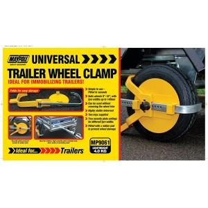 "Maypole Universal Trailer Wheel Clamp 8-10"""