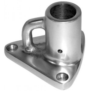 Pro-Boat Stanchion Base with Buttress Alloy