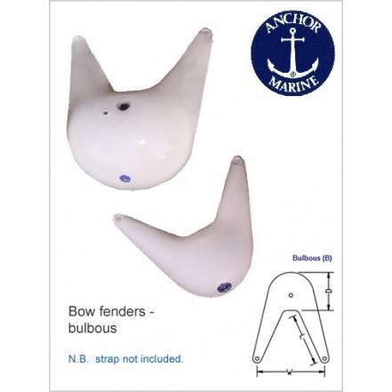 Anchor Marine Bow Fender 31x20x48cm White