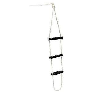 Waveline Folding rope boarding ladder - 3 steps
