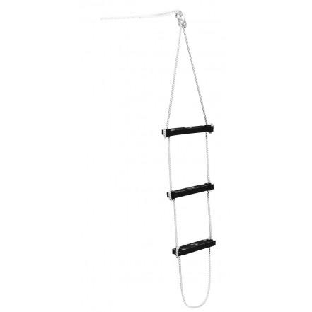 Folding boarding ladder - 4 steps.