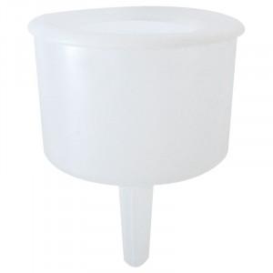 Transparent plastic funnel