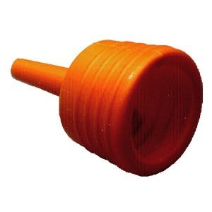 Trem Funnel Plastic Anti Splash Orange
