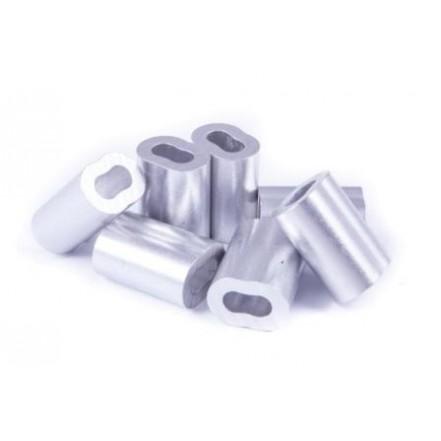 Seasure Nicopress Ferrule Aluminium for Galvanised Wire