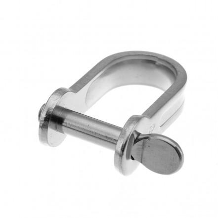 RWO Marine Strip Dee Shackle S/Steel 5mm Pin