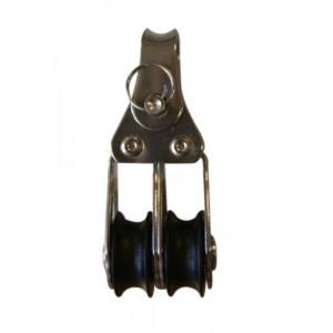 Holt Marine Mininox Double Fixed Block 20mm