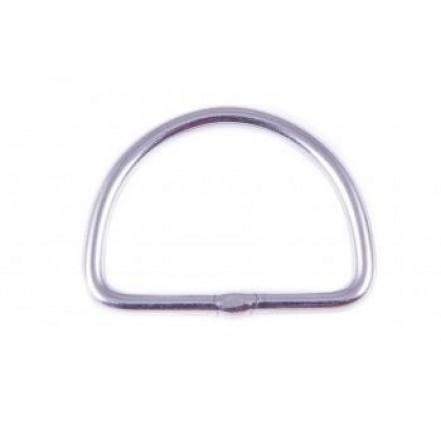 Seasure Ring Stainless Steel 'D' 6mm