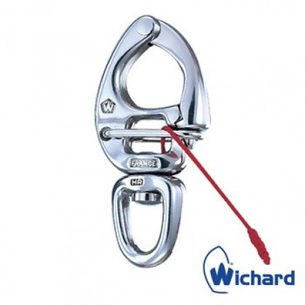Wichard Shackle Snap with Large Ball Eye 16mm x 12mm
