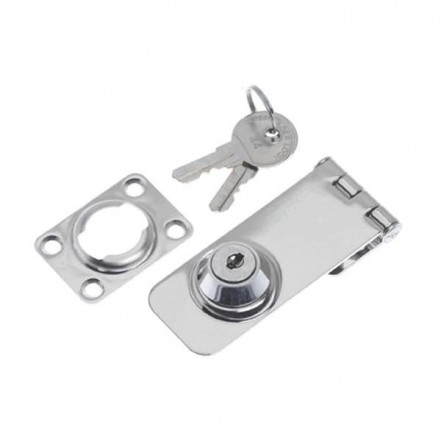 Roca Marine Hasp & Staple Lockable Stainless Steel