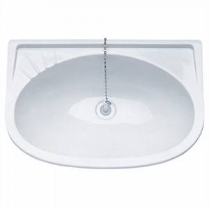 Plastimo Plastic Sink/Washbasin White