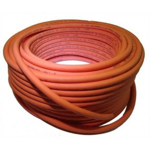 Aquafax HP BS3212/2 orange gas hose 8mmID per metre