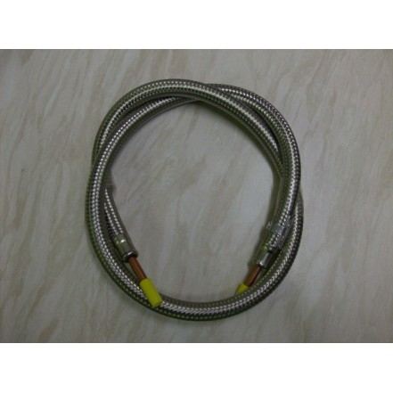 "Aquafax Braided Gas Hose 1/4""X36"""