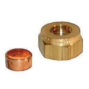 Holt Marine Coupling Nut 1/4'