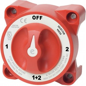 e Series Battery Selector Switch With AFD