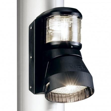 Aqua Signal Series 41 Masthead/Decklight 12V 25/50W Black