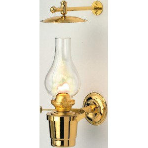 Nauticalia Brass Gipsy Moth Oil Lamp