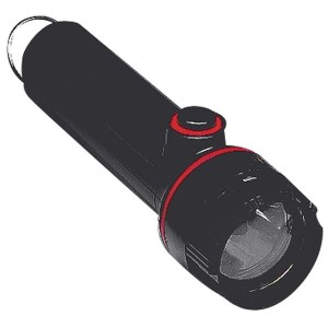 Plastimo Watertight Halogen Torch - Tough Plastic Body