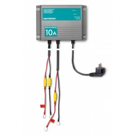 Easycharge Battery Charger 10amp 2 Output.