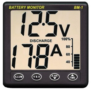 Nasa Marine Compact Battery Monitor