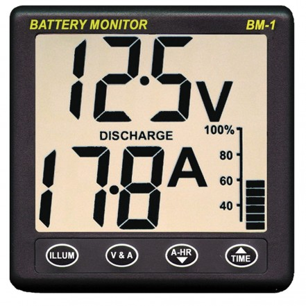 Nasa Marine Clipper Battery Monitor BM-1