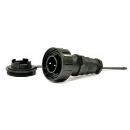3-Pin Flexible Cable Plug Screw Connection 10 Amp
