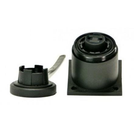 Bulgin 6-Pin 3Amp Surface Socket Screw Connection