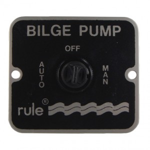 Jabsco Bilge Pump 3 Way Switch Rule