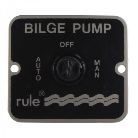 Jabsco Bilge Pump 3 Way Switch Rule