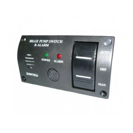 C Quip Bilge Pump 3 Way Switch Panel 12V
