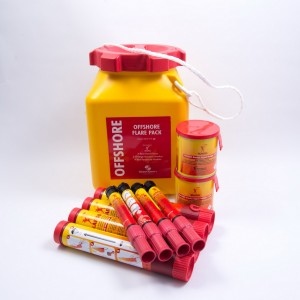Hansson Pyrotechnics Ikaros Flare Pack Offshore