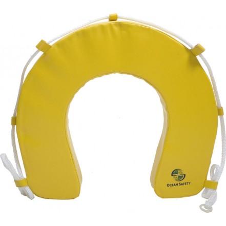 Ocean Safety Lifebuoy Horseshoe Only Yellow