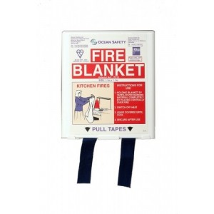 Ocean Safety Fire Blanket Compact