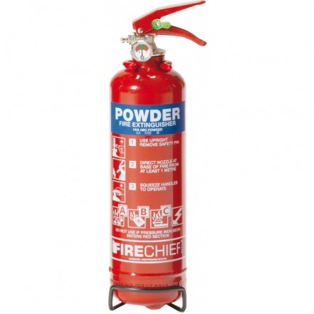 ABC Dry Powder Extinguisher 8A/55B 1kg