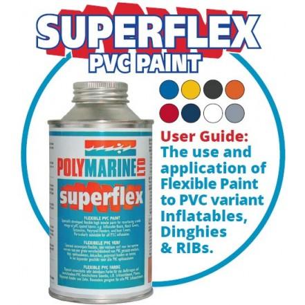 Polymarine Superflex PVC Paint Grey