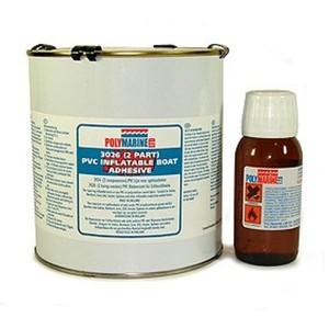 Polymarine 2-Part Davit Adhesive PVC 1 Litre