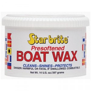 Starbrite Presoftened Boat Wax 397g