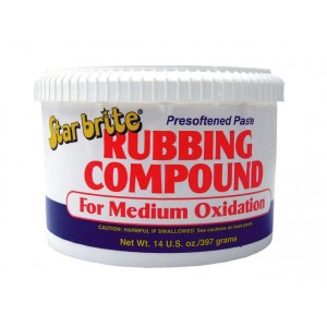 Starbrite Rubbing Compound Medium Oxidation 14oz
