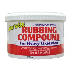 Starbrite Rubbing Compound Heavy Oxidation 14oz