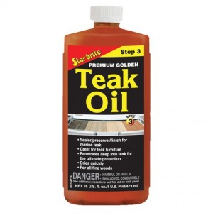 Starbrite Premium Golden Teak Oil 473ml