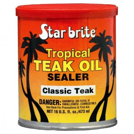 Starbrite Tropical Teak Oil/Sealer Classic Teak 473ml