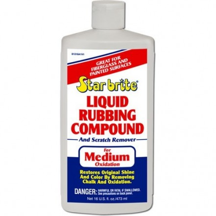 Starbrite Liquid Rubbing Compound For Medium Oxidation 473ml