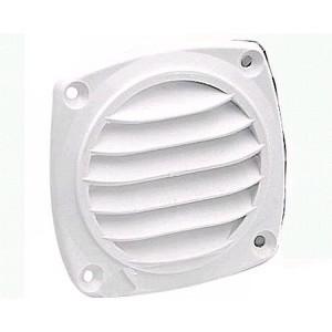 C Quip Plastic Round Ventilator White