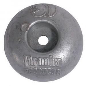 Piranha Zinc Disc Anode 100mm 1kg